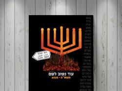 """עיצוב כרזה שנת 2005 - פרויקט """"מכריזות בזאת"""" לרגל 70 שנה למדינת ישראל"""